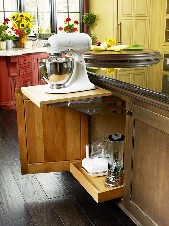 Kitchenaid storage hack