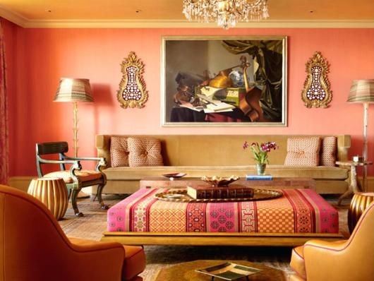 Living room image in Moroccan Designs
