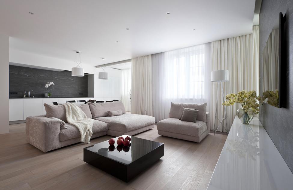 Living room image in Minimalist Designs