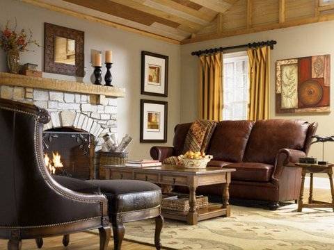 Country interior design style