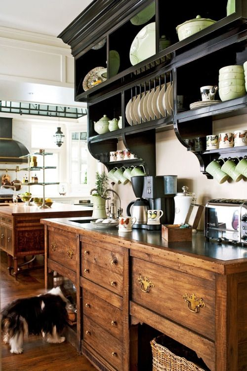 Color & English Country Kitchen Style