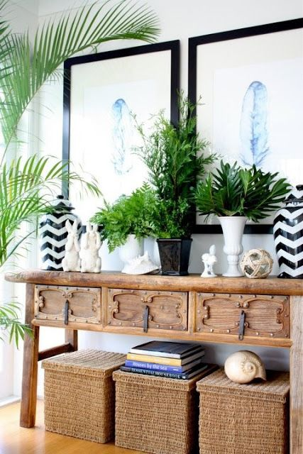 Tropical Interior Designs Styles