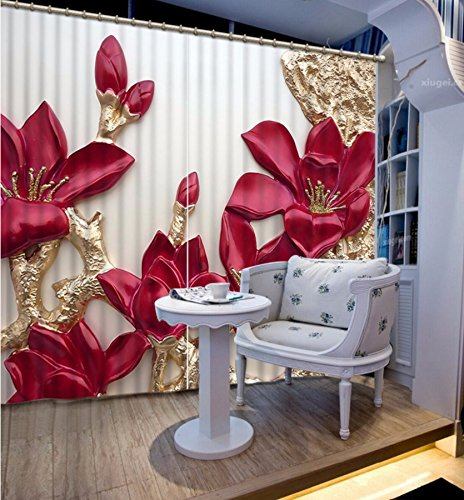 Wapel 3D- Curtain & Wapel 3D Decor Wall