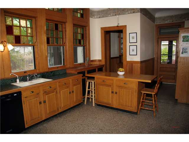 The kitchen in an historic home should be updated by an historic restoration pro to protect character and value