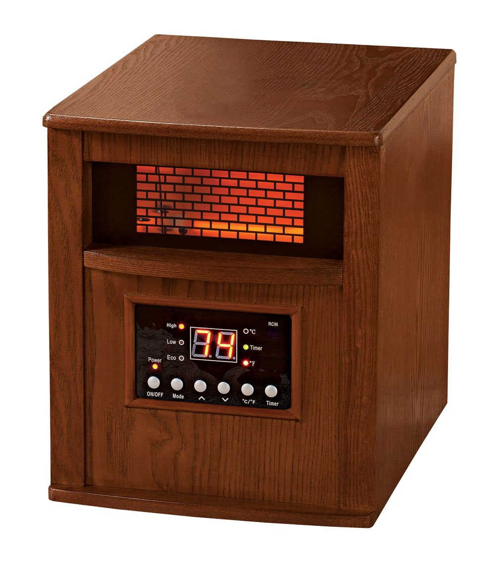Premium Heater Cabinet with Castors and Remote XL