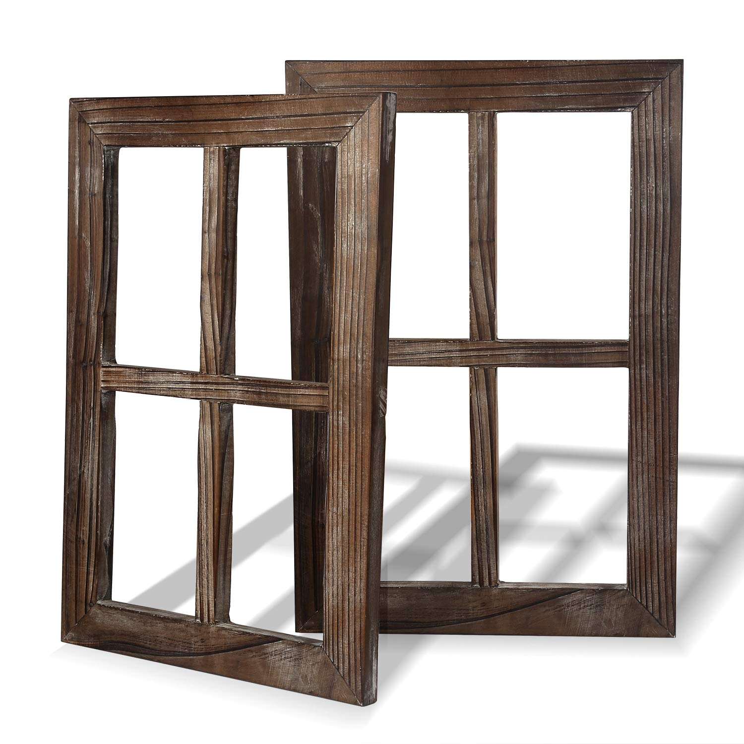 Reclaimed Window Frames For Mirror