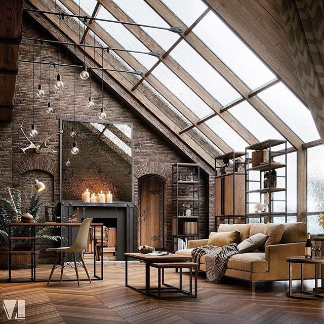 New Yorker Penthouse by vizline_studio