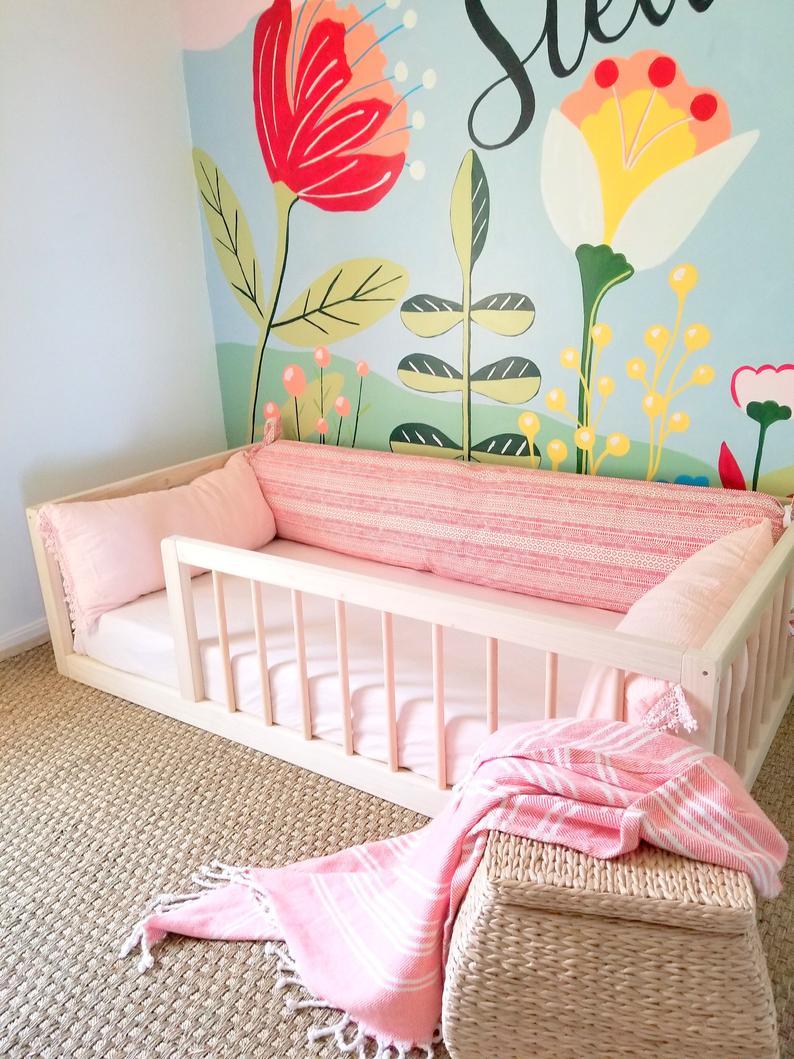 Bedroom ideas for teen girls : the Montessori_Floor_Bed  is our Teen bedroom room ideas # 5