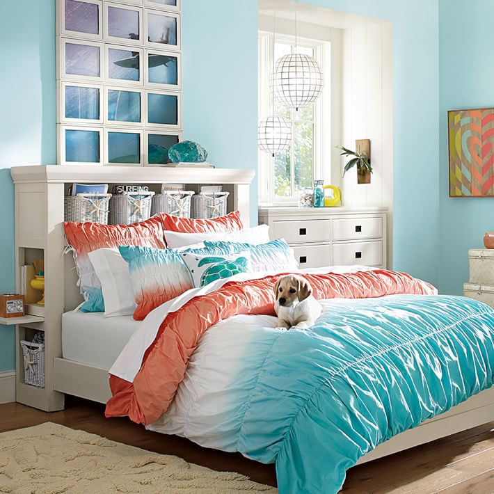 #23 Naturally drawn to feel-good fabrics and textures, be sure to add some touchy-feely components  teens bedroom ideas, teenage ideas for bedroom, room ideas for teenage girls,