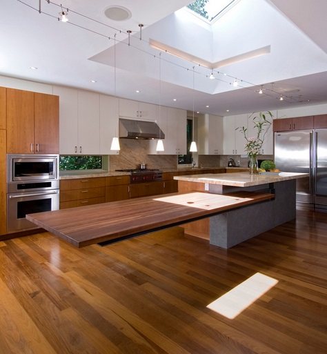 Impressive multi tier with floating table level kitchen Island design kitchen countertops decorating ideas ideas for decorating a small kitchen decorating an island in the kitchen ideas for kitchen islands with seating kitchen islands with butcher block top design ideas for kitchen cabinets