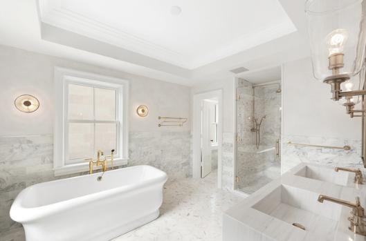 Art Deco Bathroom Design Idea