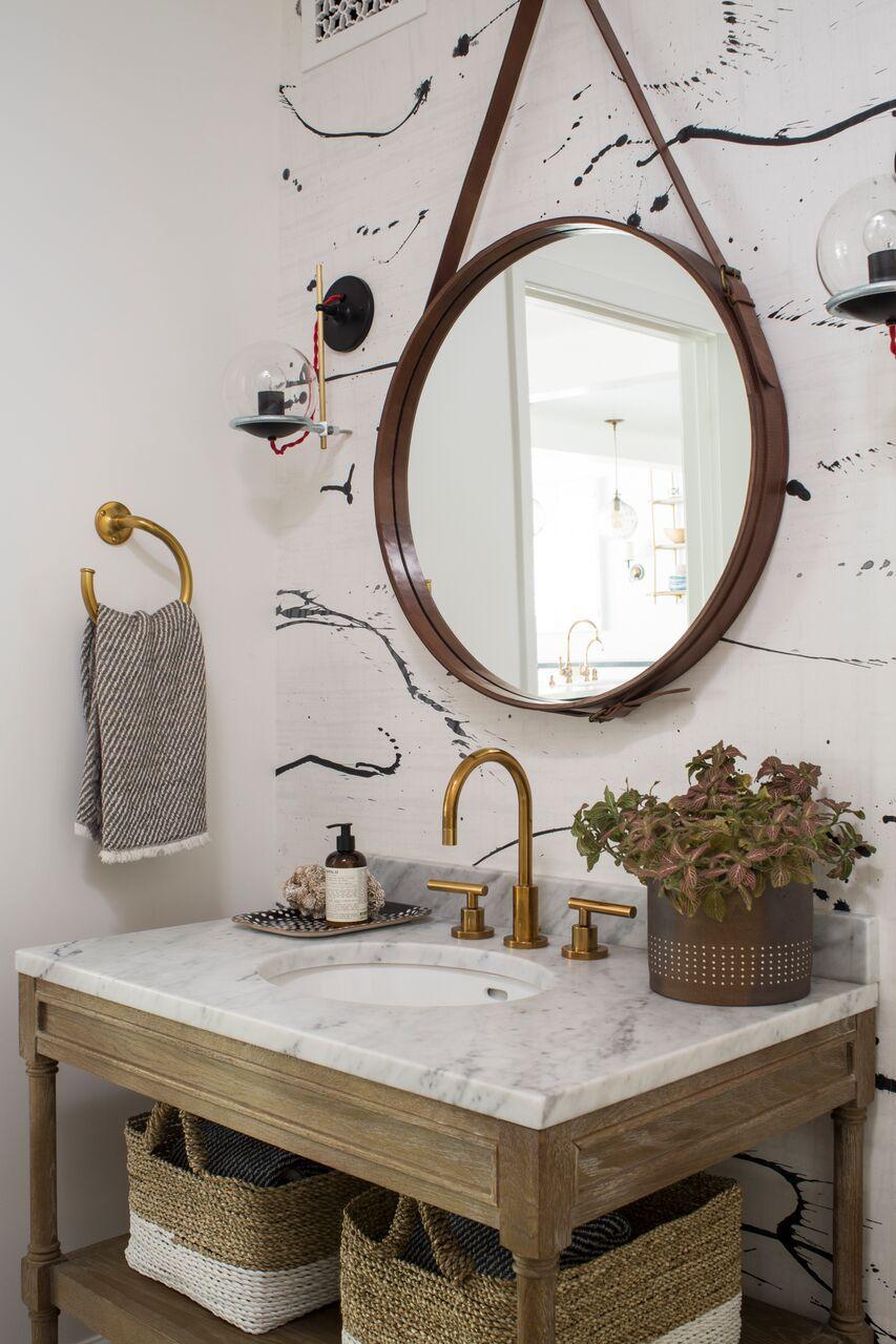 Small Powder Rooms with big attitude