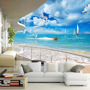 teens bedroom ideas, teenage ideas for bedroom, room ideas for teenage girls,sea-view-wallpapers from wallperio.com another mural option is #25 of our teen bedroom ideas