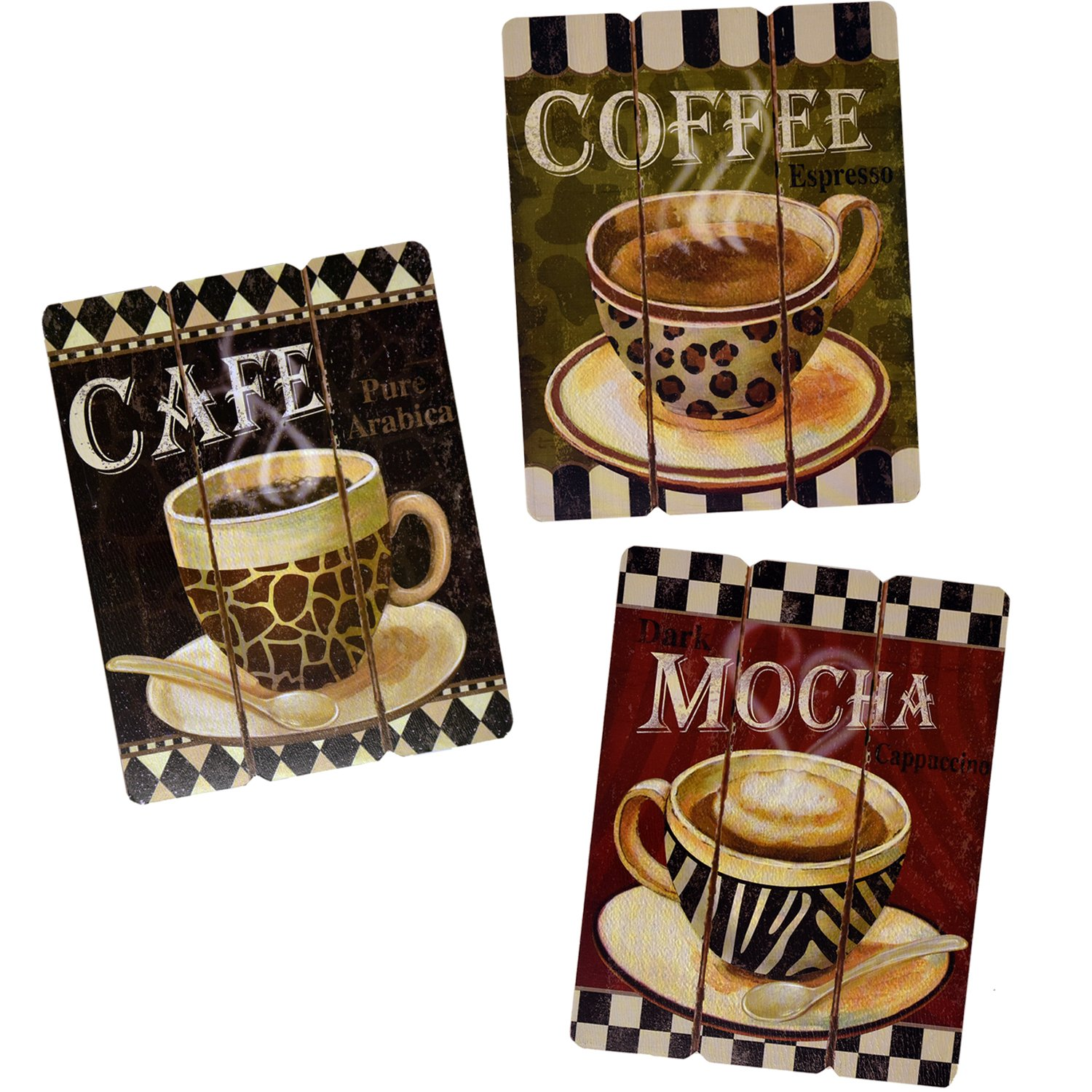Is one of my personal favorite Most Popular Cute Coffee Themed Kitchen Decorations https://www.amazon.com/Hanging-Paintings-Bedroom-Kitchen-Accessories/dp/B015RXA3LU?ref_=fsclp_pl_dp_2