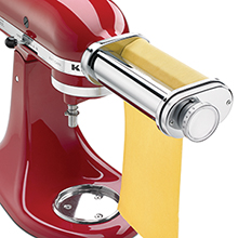 My favorite kitchen aid accessory is the pasta kitchenaid attachment.