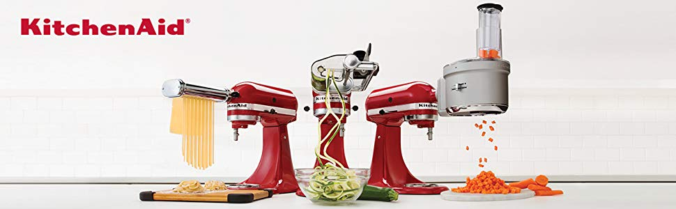 KitchenAid Power Hub to connect your kitchenaid attachment and turn the tilt head stand mixer into a full blown food processor