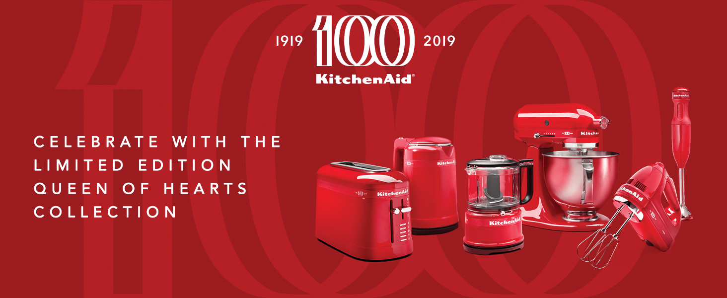 KitchenAid 100 Year Anaversery King Of Heart Special Eddition