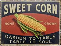 Vintage Sign Sweet Corn