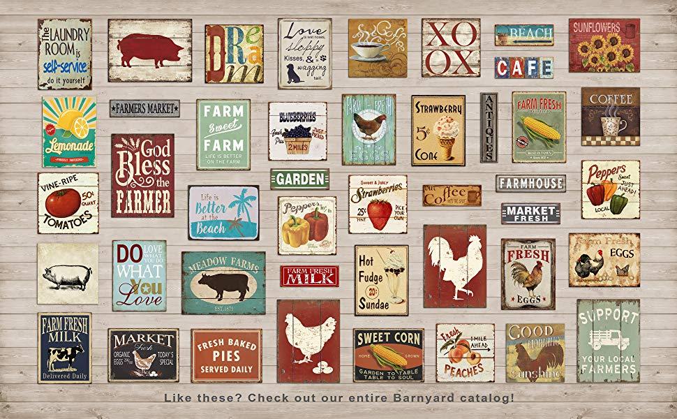 Check the Barnyard Catalog for farmhouse sign