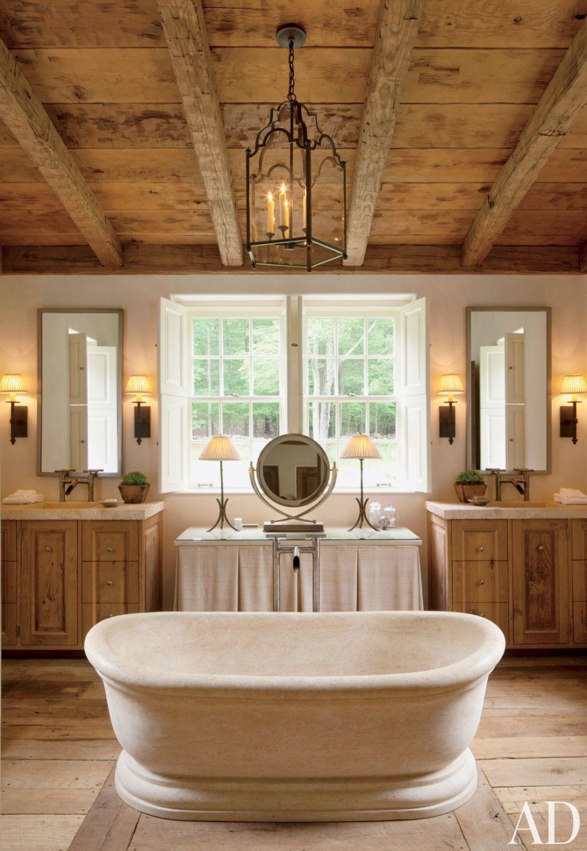 ern ceramic Charming Farmhouse Bathroom tub