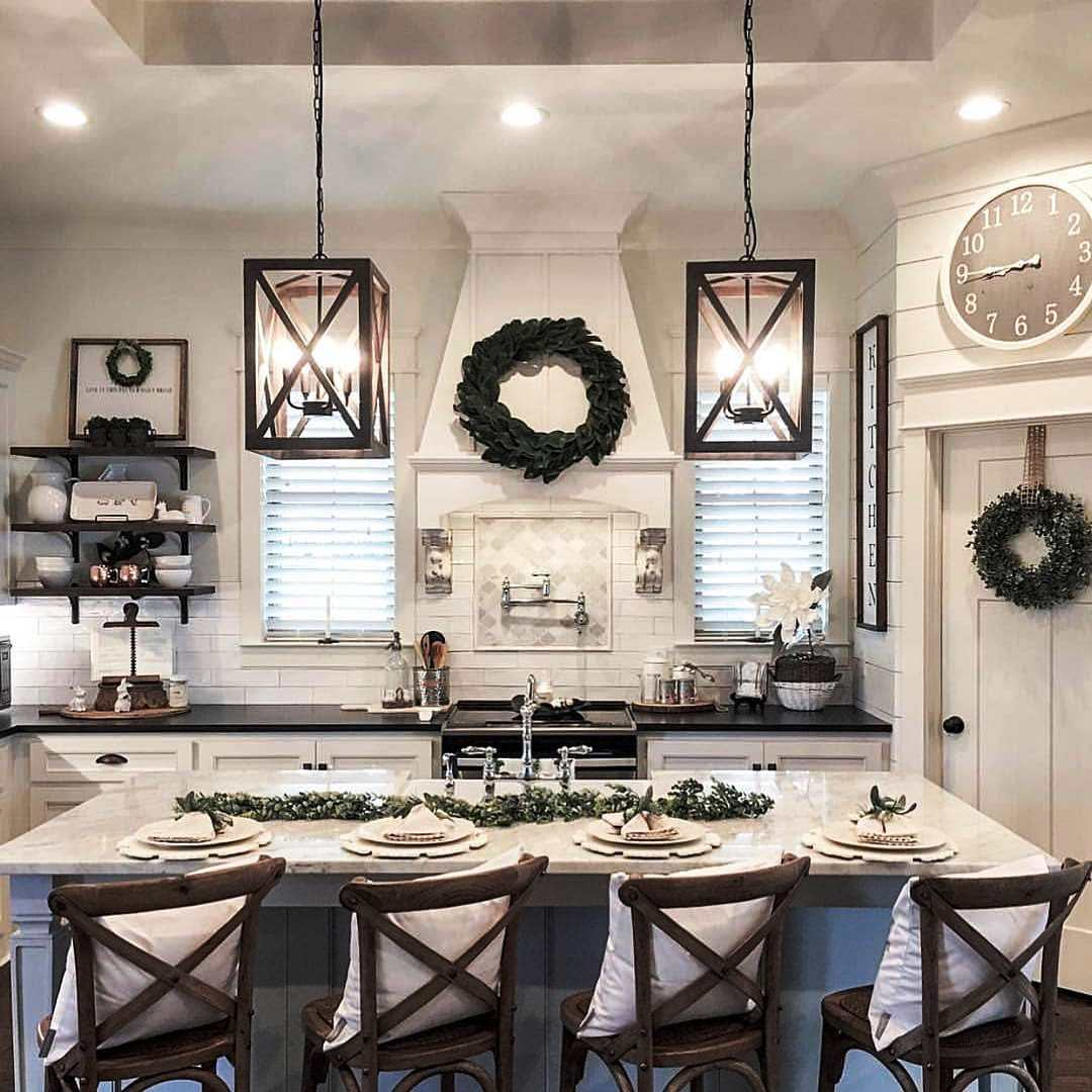 17 Best Farmhouse Kitchen Decor and Design Ideas