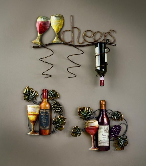 Wall Decor & Wine Bottle holder