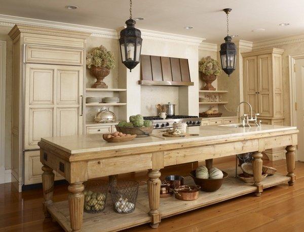 European Farmhouse Design Kitchen