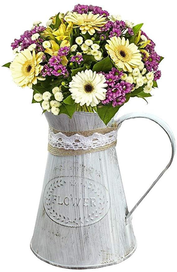 Milk Can For Flower Arrangements