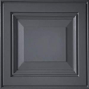 image of grey painted door