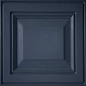 image of bkue painted door
