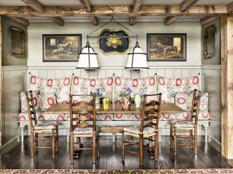 fall decorating ideas dining room upholstery