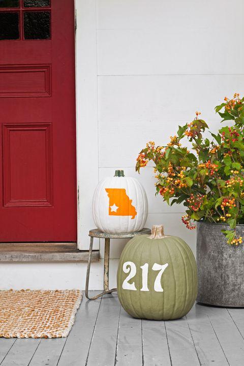 fall pumpkins -- Fall Decorating Ideas