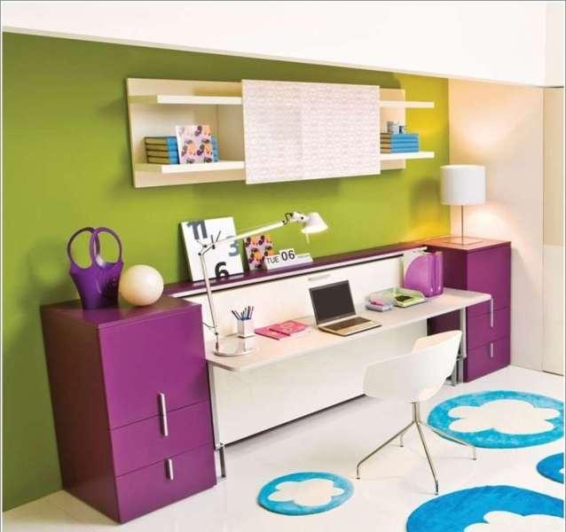 Multifunctional desk/bed furniture for teens bedroom design