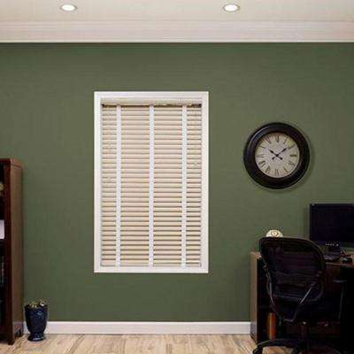 """Most Mini blinds are available in several slat widths, 1/2"""", 1"""", 2"""". The slats are manufactured in different gauges (thickness) of aluminum."""