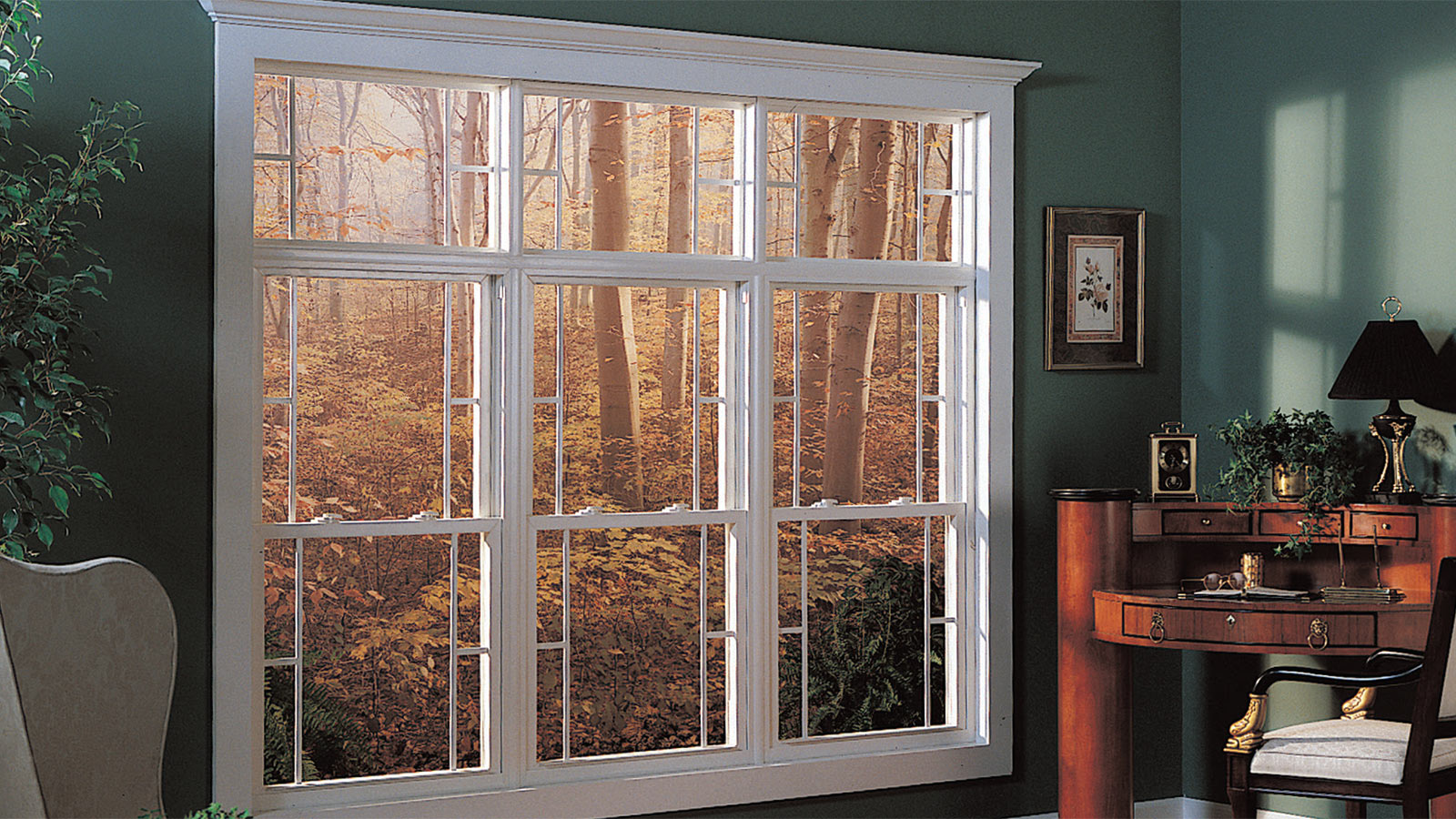 Single hung windows are easier on the budget because the top sash does not move.