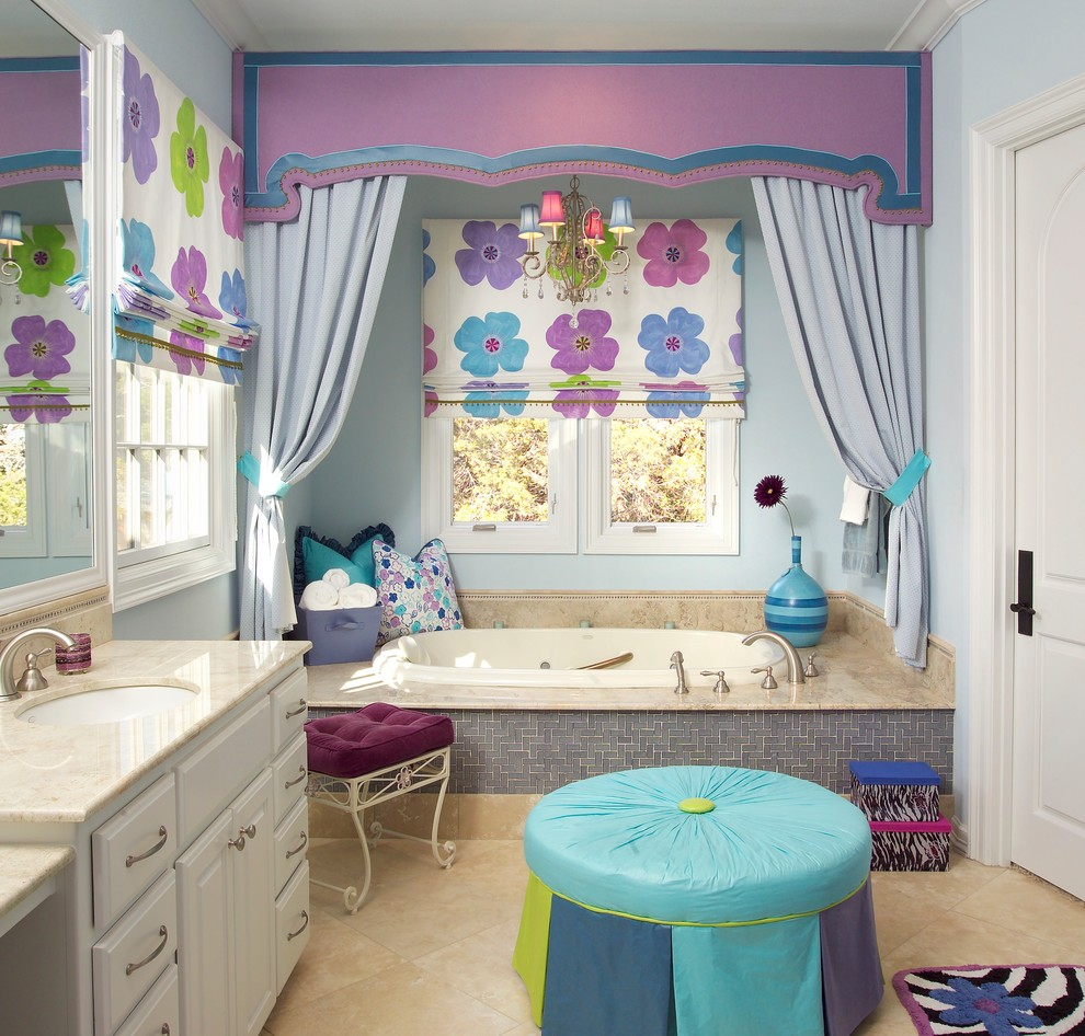 another kid bathroom decor option