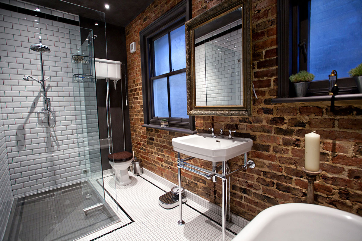 Industrial - Feel in Brick & Subway