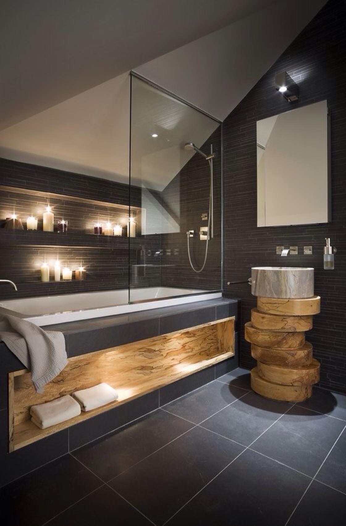 Design Ideas for Bathrooms In Black