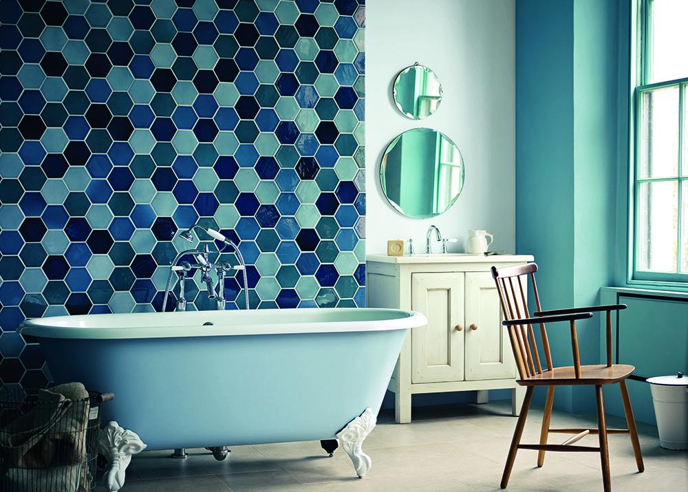 Aquamarine Dream Bathroom Design Ideas