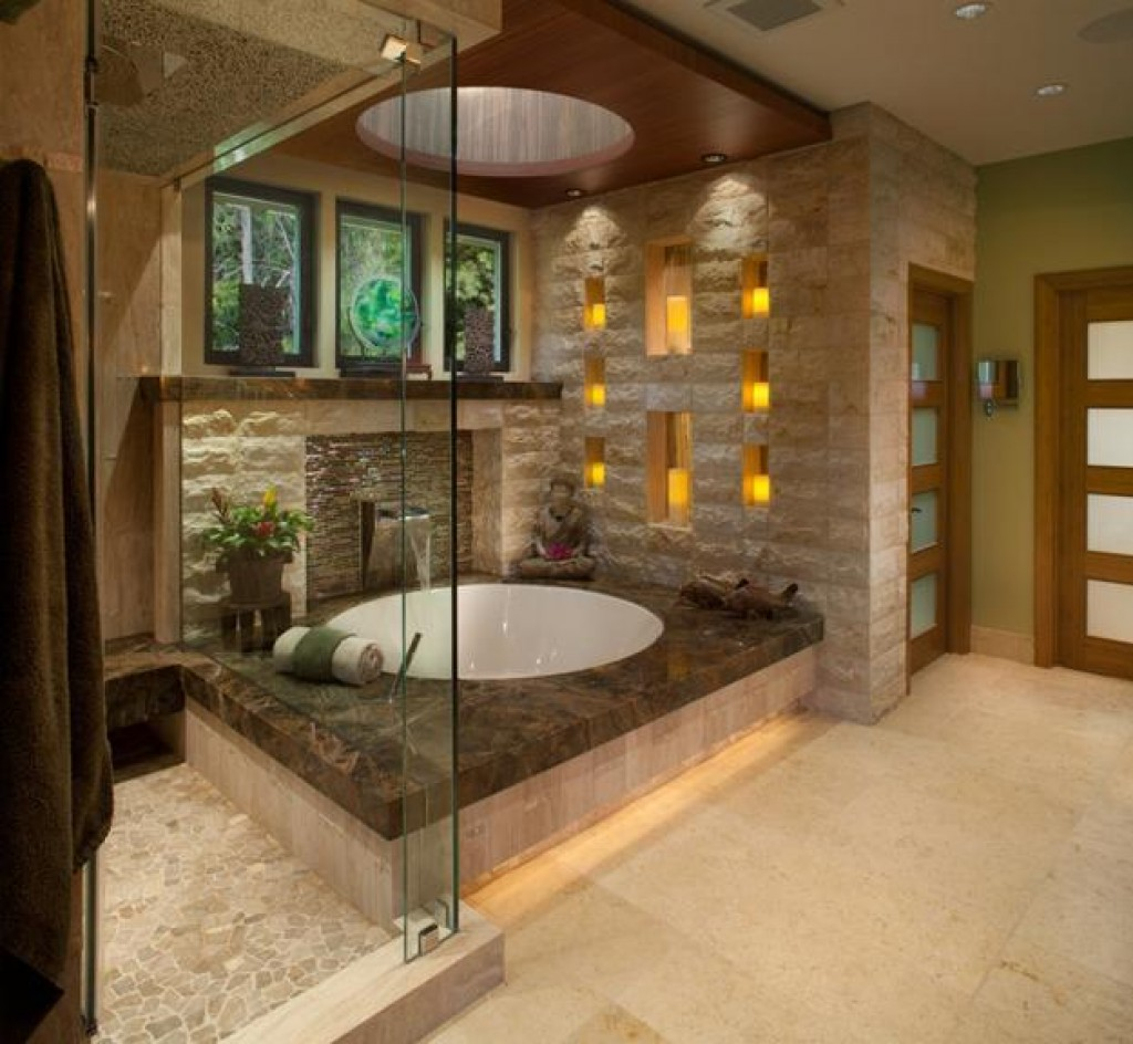 Other glamorous facilities are the stand-alone shower and the stone floor's.