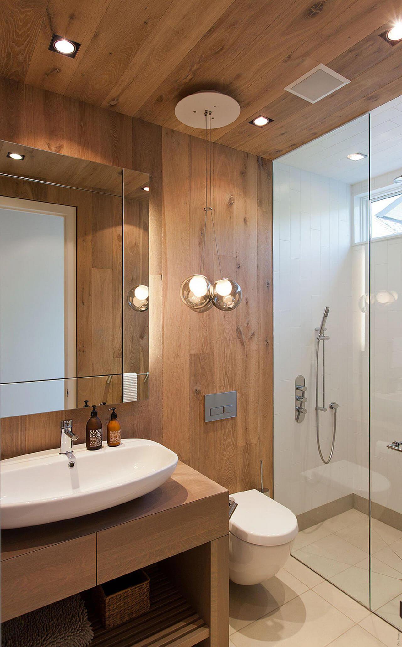 Cedar Bathroom Idea