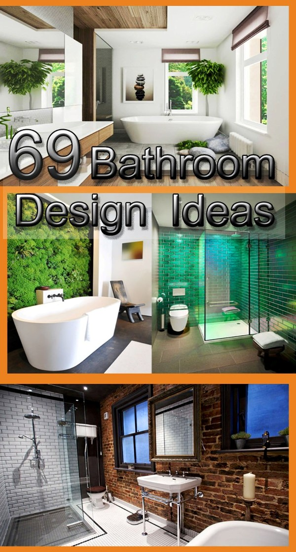 69 bathroom designs - transform Your bathroom decoration and update today