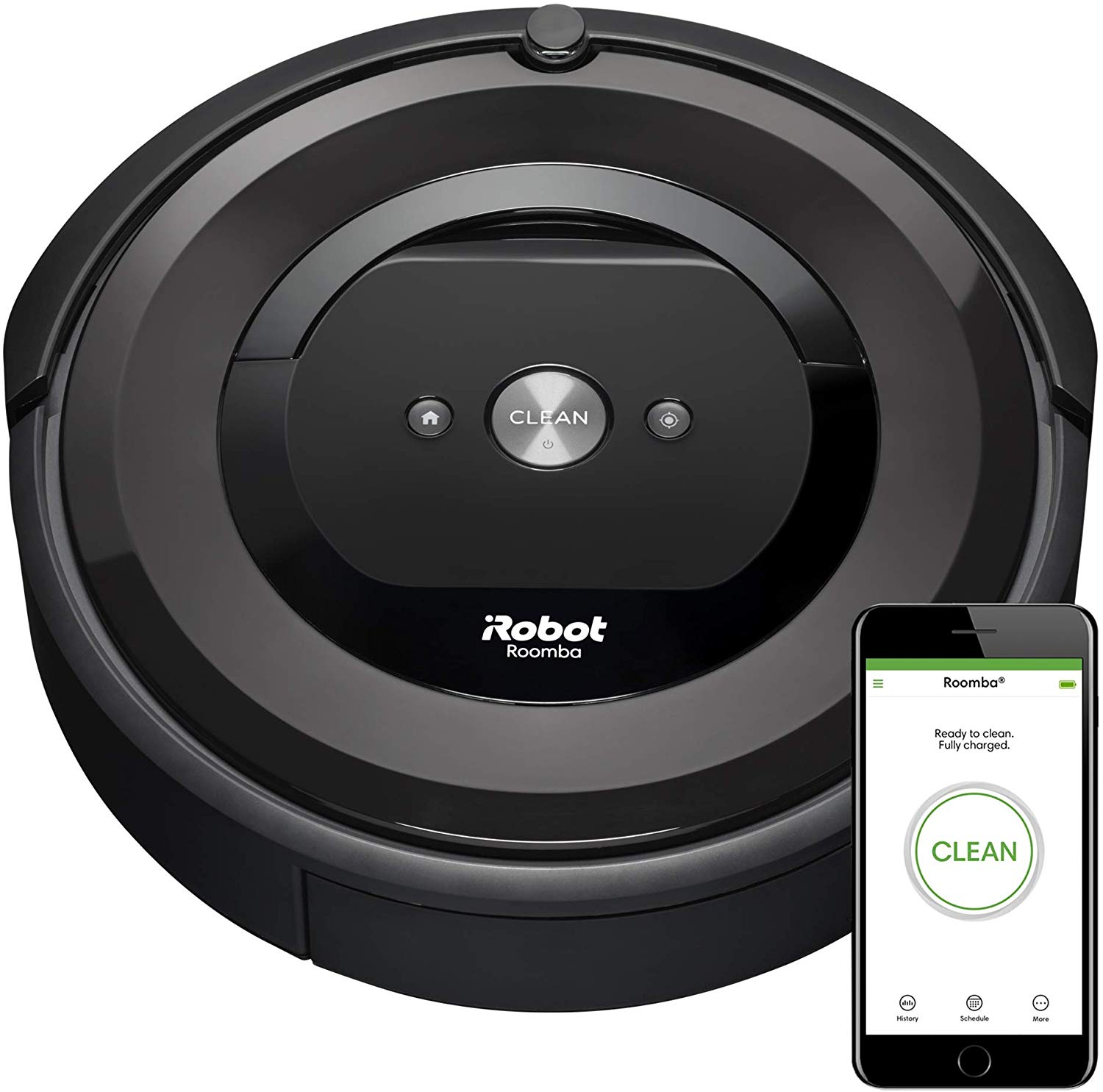 With 20 years in the making theiRobot Roomba e5 is one of our top models. With an Excellent Ratings for surface cleaning of carpets & bare floors.