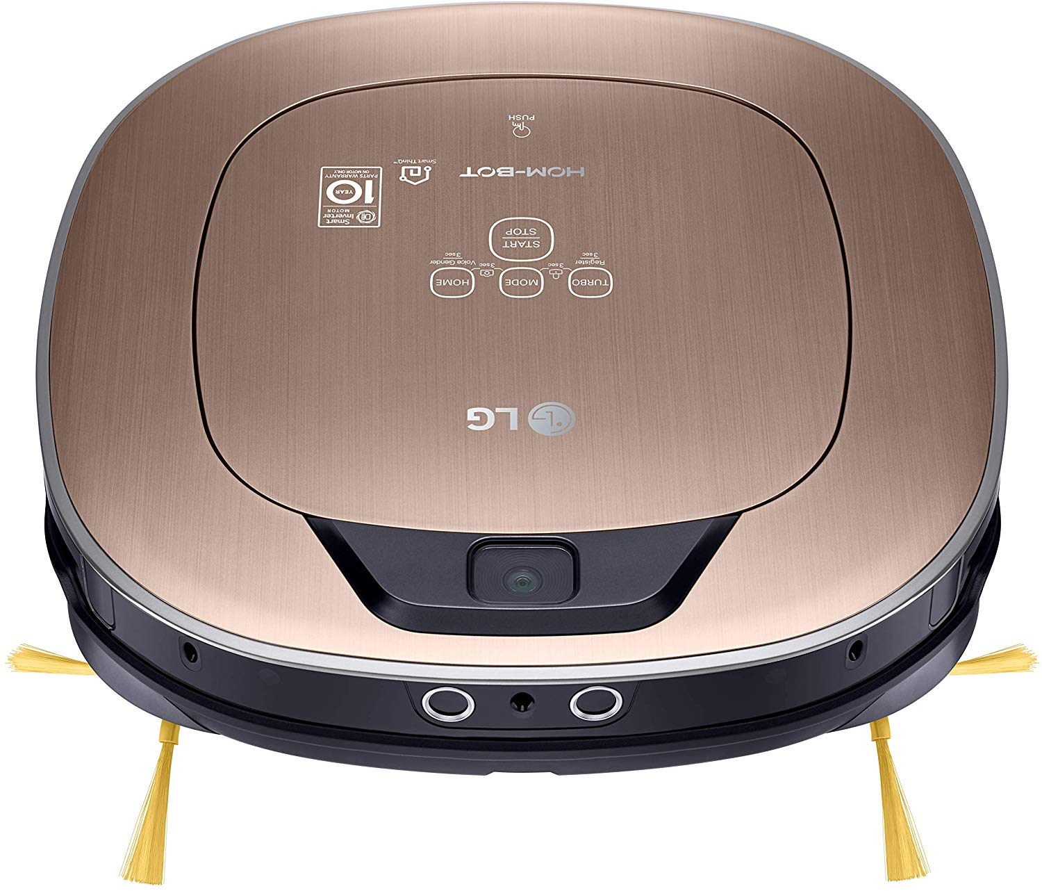 The LG Hom-Bot CR5765GD is not only the most expensive Robot-Vacuum, but also a force to reckon with
