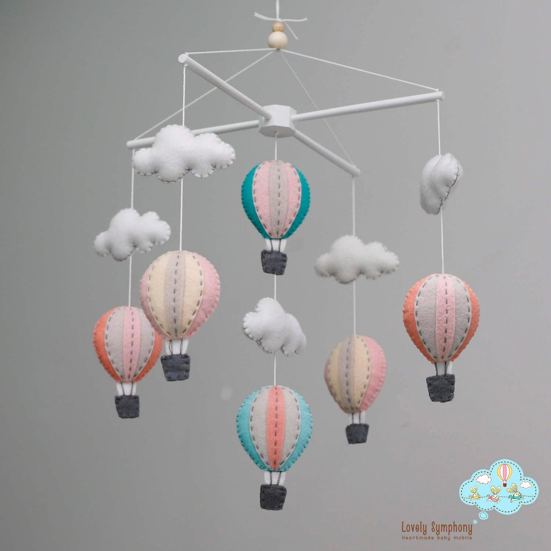 baby crib baloon mobile