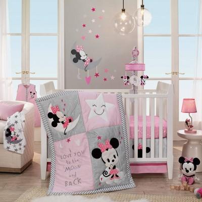 Mini Mouse baby crib theme