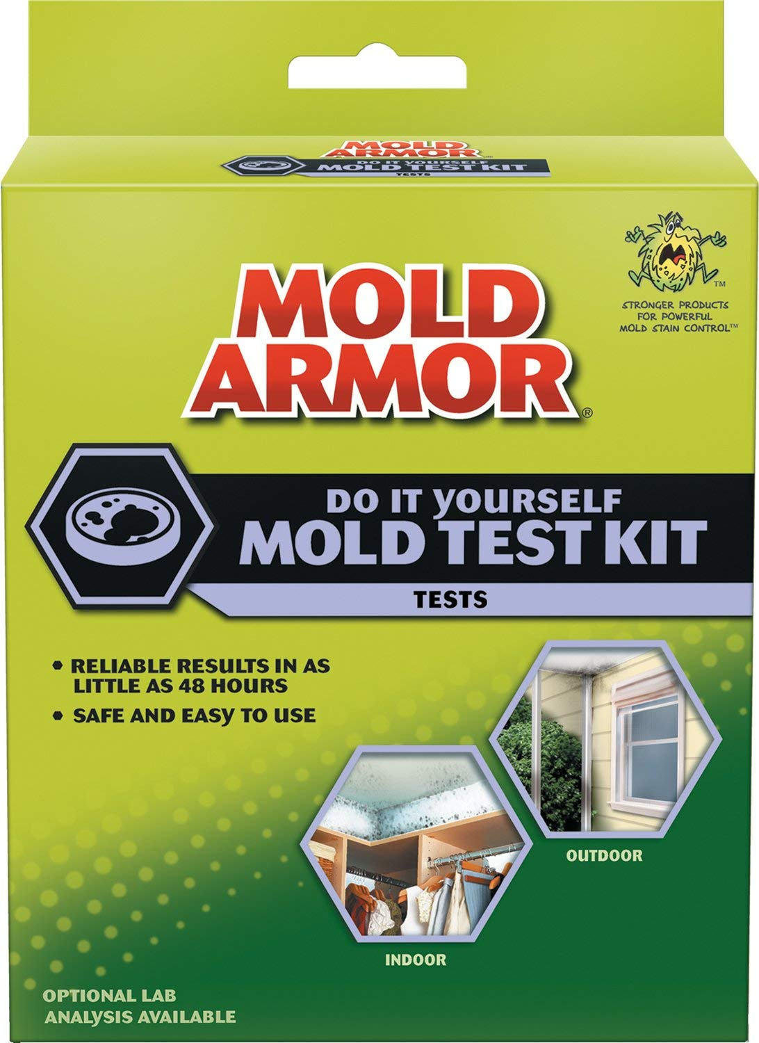 Image of box with mold amor test kit