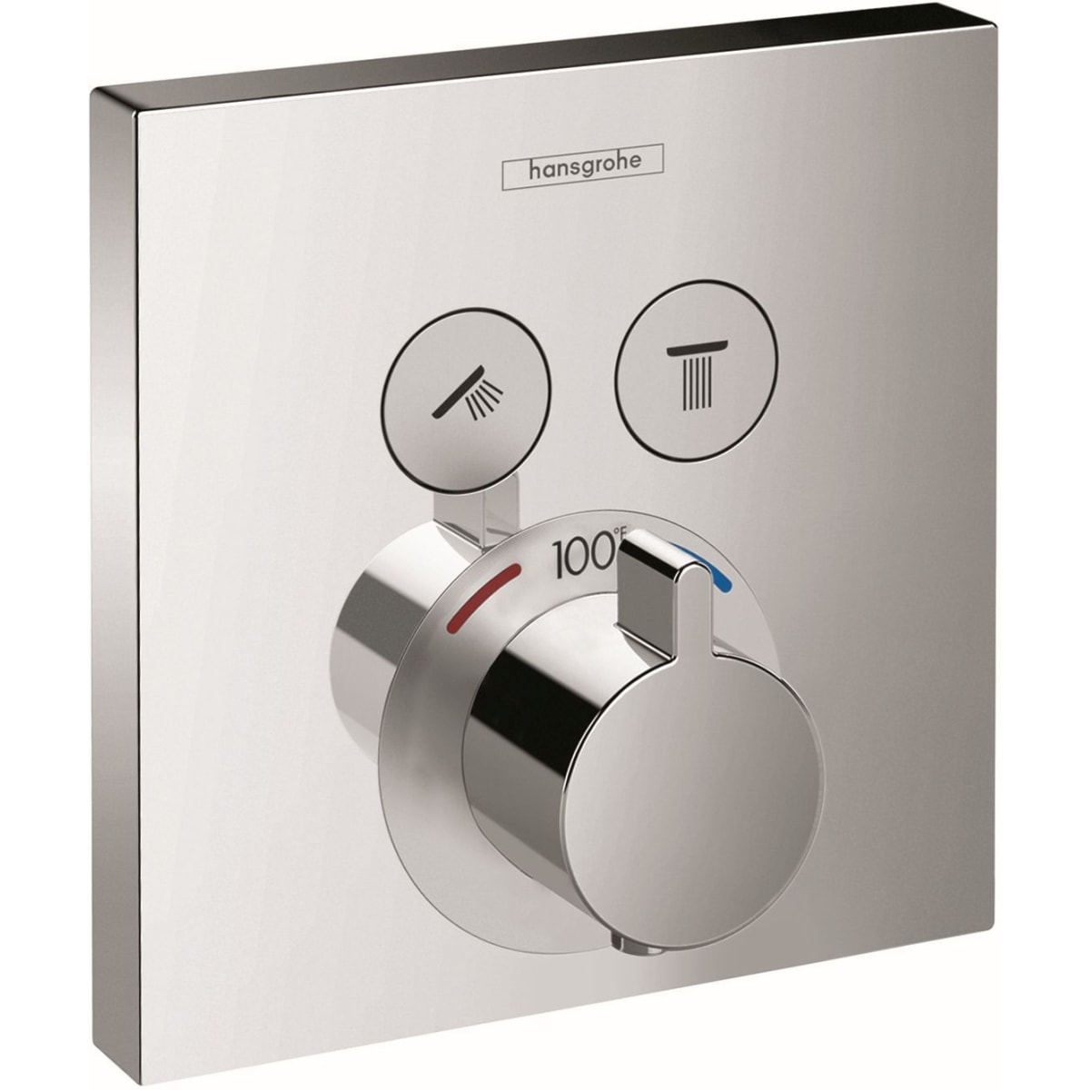 Hansgrohe Shower Raindance Collection - S Thermostatic Trim with Volume Control and Diverter (04231)