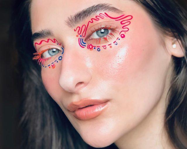 Идея для макияжа: аккаунт в Instagram с мультяшным мейком