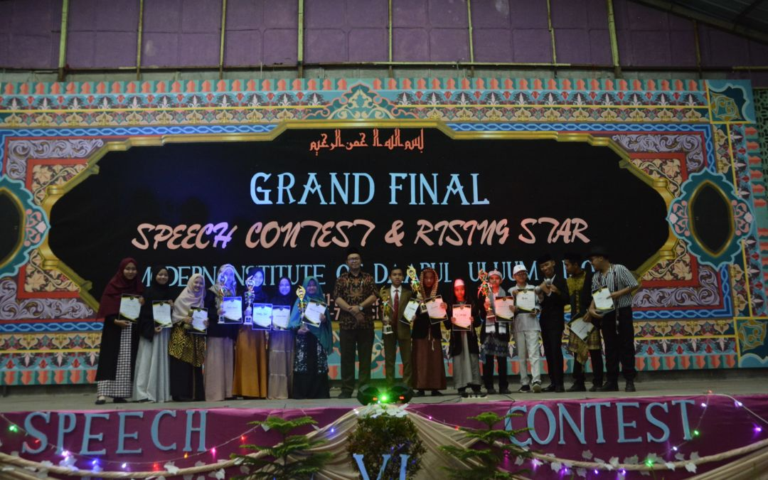 Speech Contest dan Rising Star VI